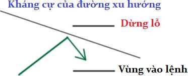 Giao dịch khi giá bật lại - Bounce 1