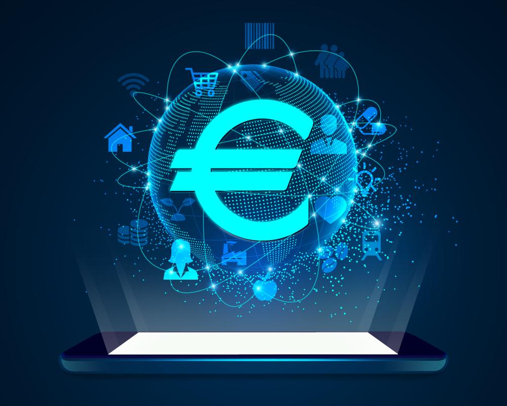 Sẽ có đồng Euro kỹ thuật số vào giữa thập niên này?