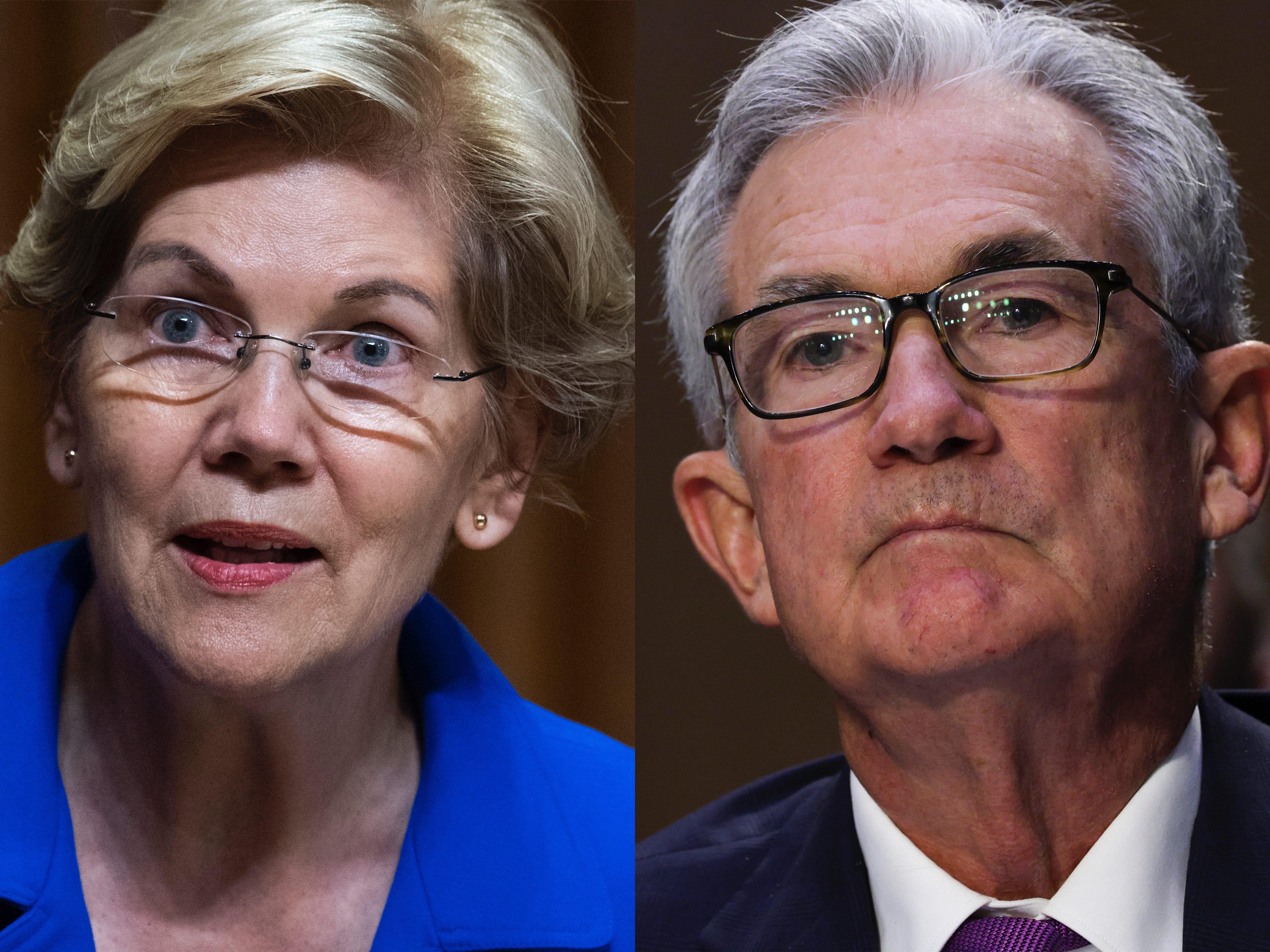Thượng nghị sĩ Warren nói rằng bà sẽ phản đối việc tái bổ nhiệm Chủ tịch FED Powell