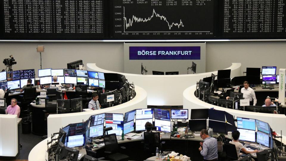Chứng khoán Châu Âu suy yếu trước thềm cuộc họp ECB