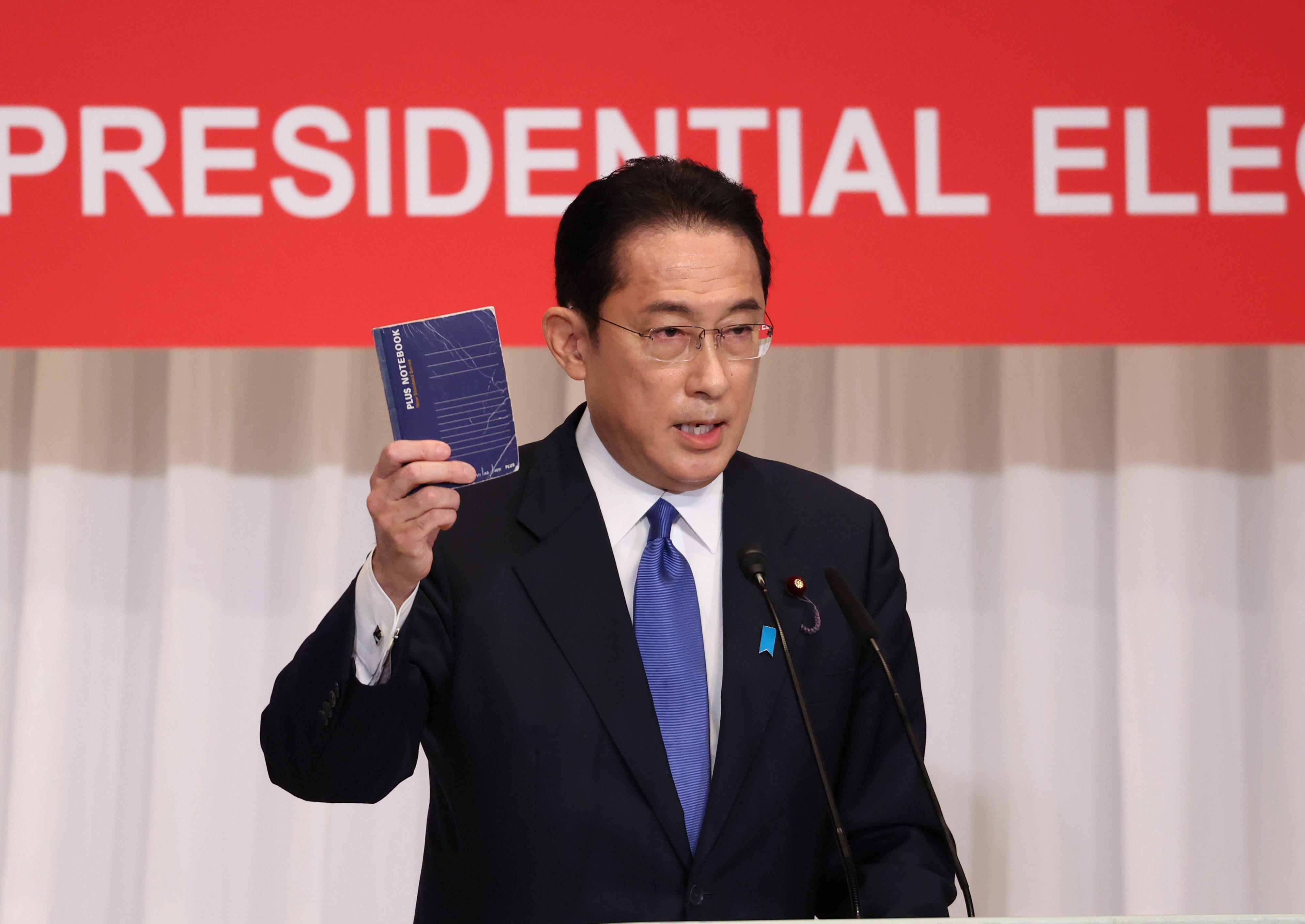Ông Fumio Kishida dự kiến sẽ trở thành thủ tướng thứ 100 của Nhật Bản