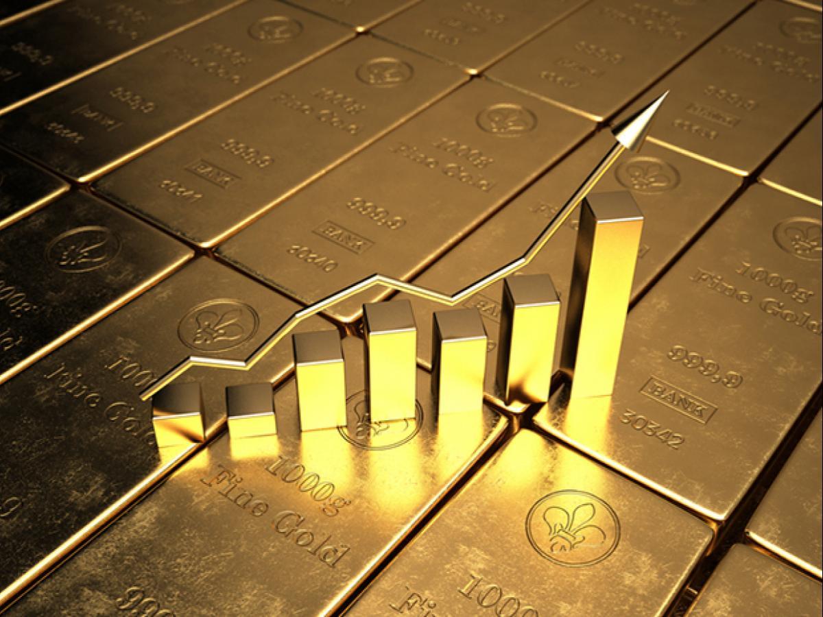 Giá vàng tăng mạnh, nhà đầu tư dõi theo khủng hoảng trần nợ Mỹ