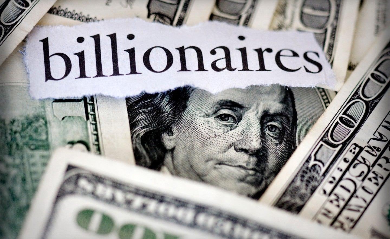Tỷ phú thuộc top 10 giàu nhất thế giới đều đang sở hữu tài sản trên 100 tỷ USD